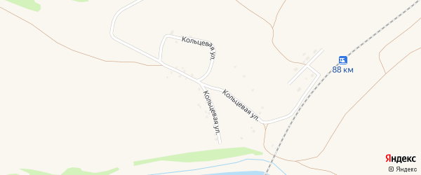 Кольцевая улица на карте Заринска с номерами домов