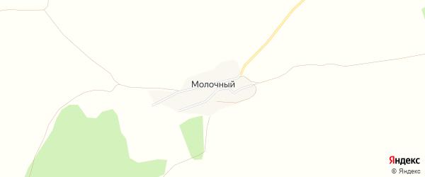 Карта Молочного поселка в Алтайском крае с улицами и номерами домов
