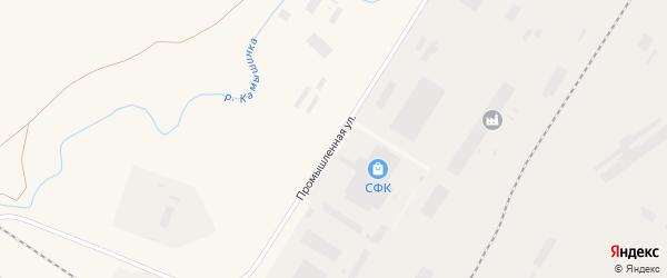 Промышленная улица на карте Заринска с номерами домов