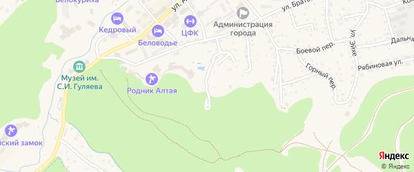 Улица Артековцев на карте Белокурихи с номерами домов