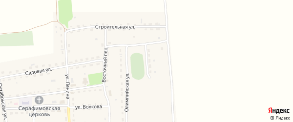 Молодежная улица на карте Линевского поселка с номерами домов