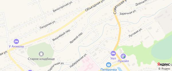 Гончарная улица на карте Белокурихи с номерами домов