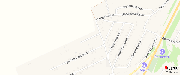 Норильская улица на карте Белокурихи с номерами домов