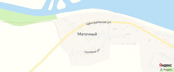 Полевая улица на карте Маточного поселка с номерами домов
