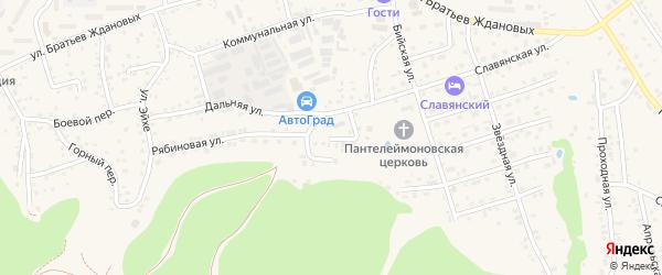 Улица Святого Пантелеймона на карте Белокурихи с номерами домов