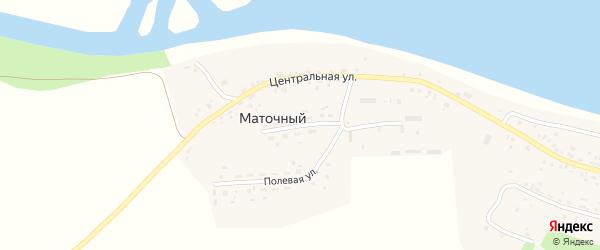 Новая улица на карте Маточного поселка с номерами домов