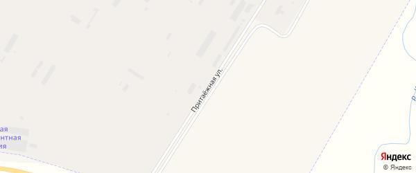 Притаежная улица на карте Заринска с номерами домов