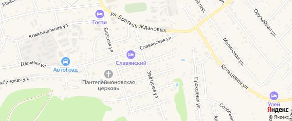 Троицкая улица на карте Белокурихи с номерами домов