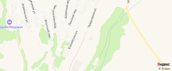 Улица Гагарина на карте Белокурихи с номерами домов