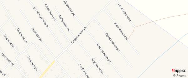 Восходящая улица на карте Белокурихи с номерами домов