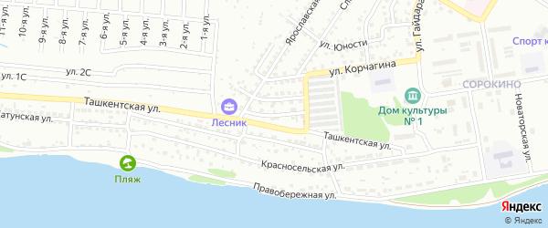 Зимний переулок на карте Бийска с номерами домов