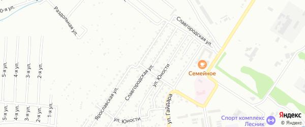 Славгородская улица на карте Бийска с номерами домов