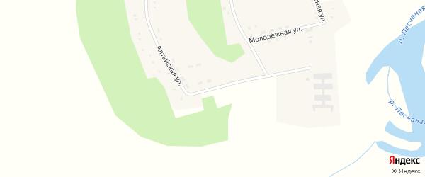 Алтайская улица на карте села Александровки с номерами домов