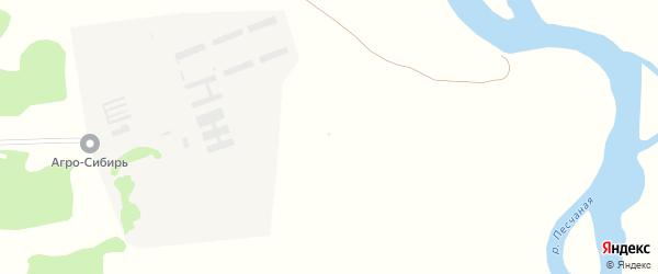 Улица Теплова на карте села Михайловки с номерами домов