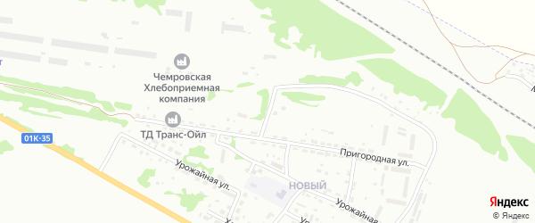 2-я Пригородная улица на карте Бийска с номерами домов