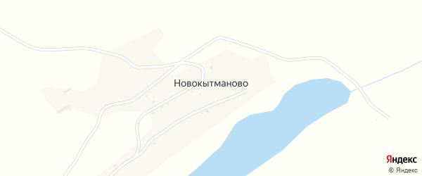 Улица Корнева на карте села Новокытманово с номерами домов