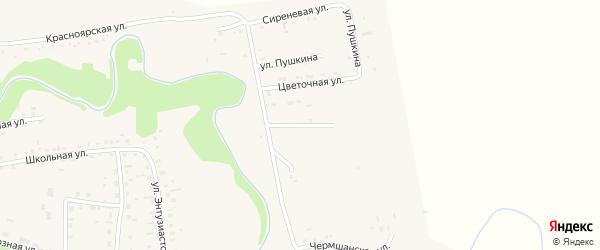 Улица 50 лет Победы на карте Смоленского села с номерами домов