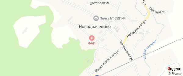 Юбилейная улица на карте села Новодраченино с номерами домов