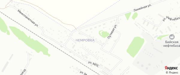 Полевая улица на карте Бийска с номерами домов