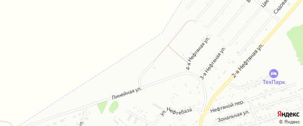 6-я Нефтяная улица на карте Бийска с номерами домов