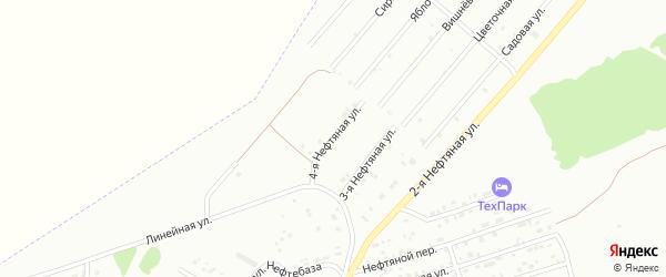 4-я Нефтяная улица на карте Бийска с номерами домов
