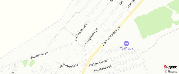 3-я Нефтяная улица на карте Бийска с номерами домов