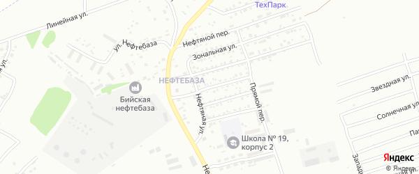 Аральская улица на карте Бийска с номерами домов