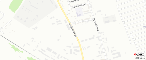 Нефтяная улица на карте Бийска с номерами домов