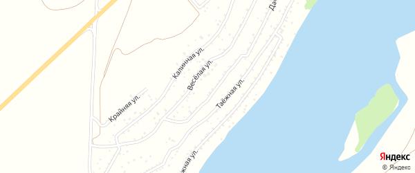 Луговая улица на карте садового некоммерческого товарищества Катуня с номерами домов