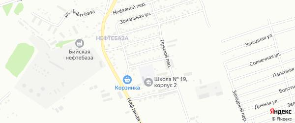 Тульская улица на карте Бийска с номерами домов