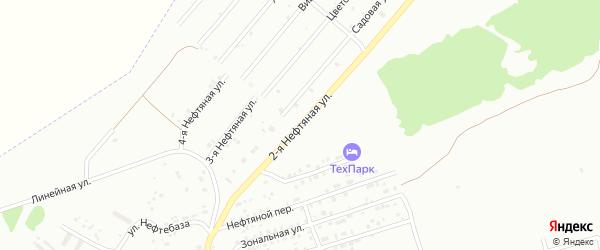 2-я Нефтяная улица на карте Бийска с номерами домов