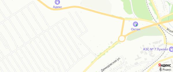 4-й квартал на карте территории ст Олеумщика с номерами домов