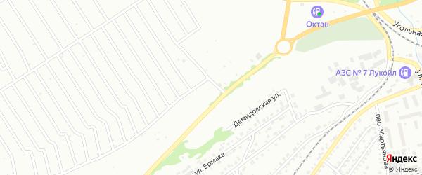 5-й квартал на карте территории ст Олеумщика с номерами домов