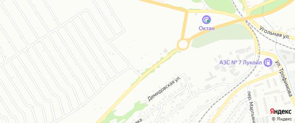 1-й квартал на карте территории ст Олеумщика с номерами домов