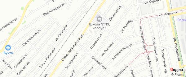Проточная улица на карте Бийска с номерами домов