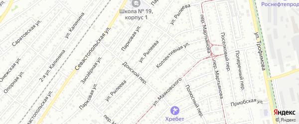 Улица Александра Суворова на карте Бийска с номерами домов