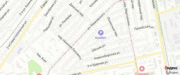 Улица Чарльза Дарвина на карте Бийска с номерами домов