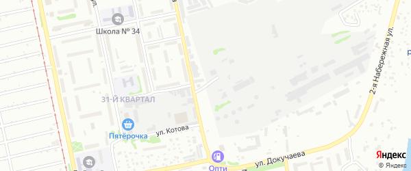 Улица Свёклопункт на карте Бийска с номерами домов