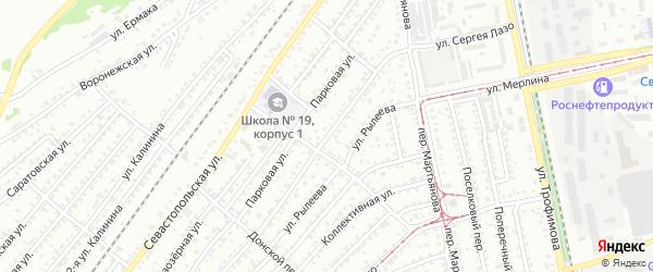 Улица Сергея Лазо на карте Бийска с номерами домов