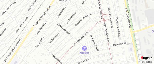 Параллельная улица на карте Бийска с номерами домов