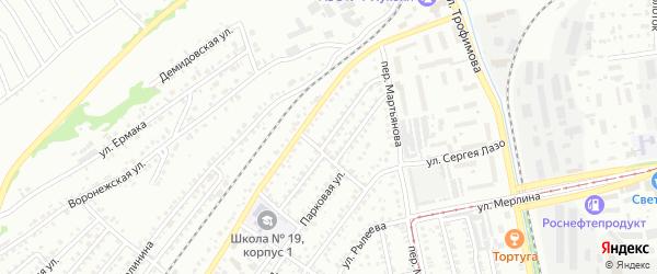 Знаменская улица на карте Бийска с номерами домов