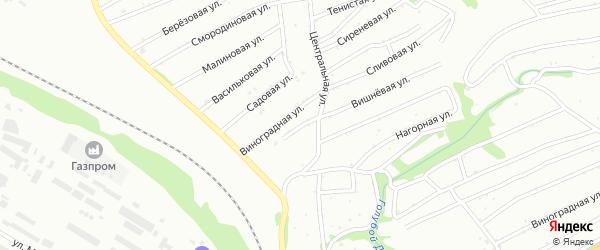 Солнечная улица на карте Бийска с номерами домов
