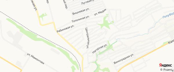 СТ Медик на карте Бийска с номерами домов