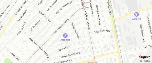 Бийская улица на карте Бийска с номерами домов