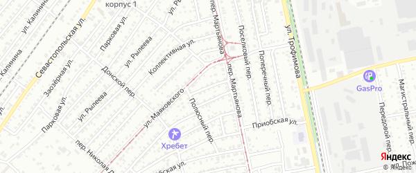 Мочищенская улица на карте Бийска с номерами домов