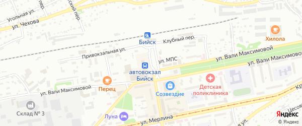 Площадь им В.М.Шукшина на карте Бийска с номерами домов