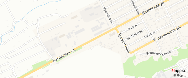 Каховская улица на карте Бийска с номерами домов
