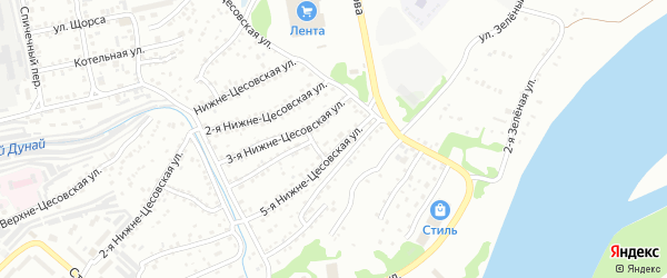 5-я улица на карте садового некоммерческого товарищества N 12 с номерами домов