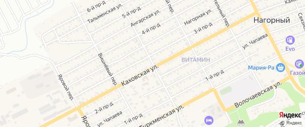 Витаминный переулок на карте Бийска с номерами домов