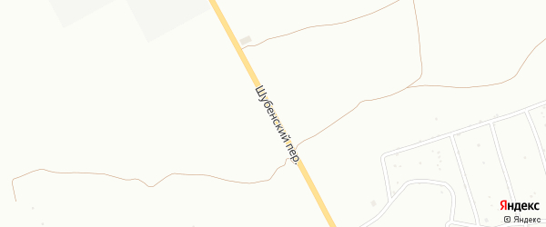 Шубенский переулок на карте Бийска с номерами домов